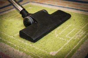 czyszczeniu dywanów