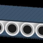 Taśma modularna w zakładzie przemysłowym
