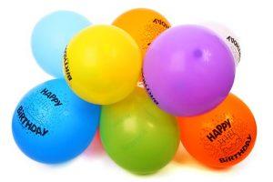 Kolorowe dekoracje na urodziny