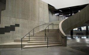 Dekoracja w postaci betonowej posadzki